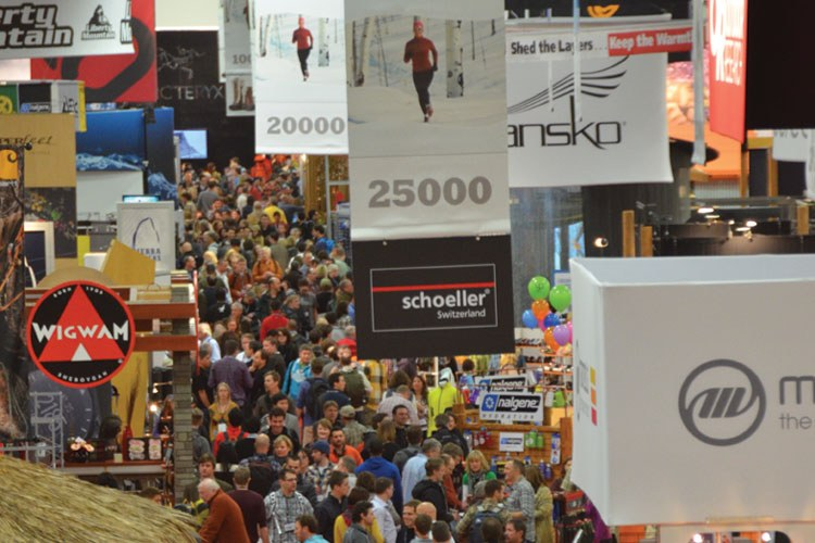 The Outdoor Retailer's twice-yearly show is a huge event that jams the Salt Palace convention center with more than 2,000 companies and 40,000 people. In the past, the show's Salt Lake City location has been used as a bargaining chip in conservatio