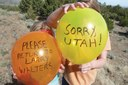 Of balloons, littering and birthday parties