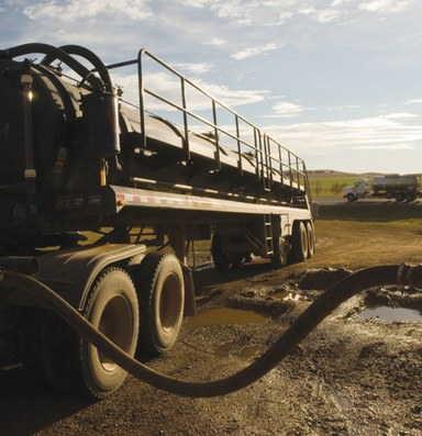 The Bakken oil play spurs a booming business -- in water