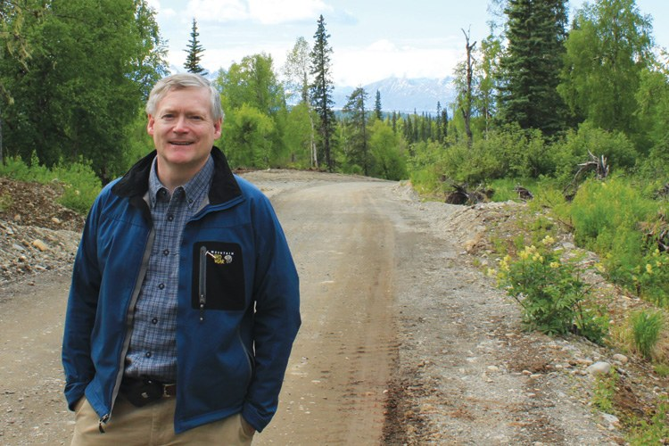 Alaska Lt. Gov. Mead Treadwell, who says a healthy economy is vital to a healthy environment.