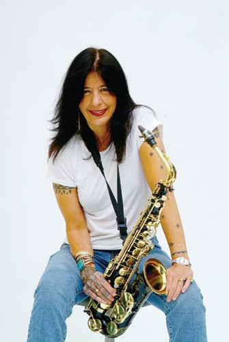 Native American poet Joy Harjo