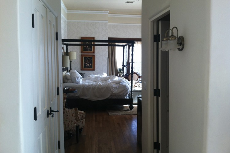 Julia Staab's bedchamber, where she spent the last days of her life, and where she died,  is now Suite 100 in the hotel.