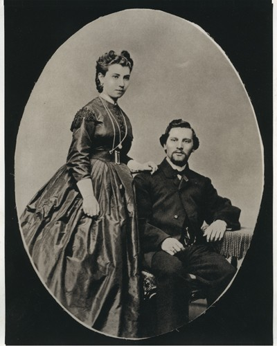 Julia and Abraham Staab.