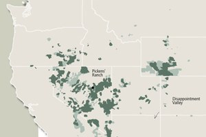 The West's BLM Herd Areas and Herd Management Areas