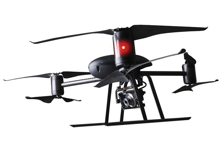 Drones like the Draganflyer X6 can carry a still or video camera to watch wildlife.