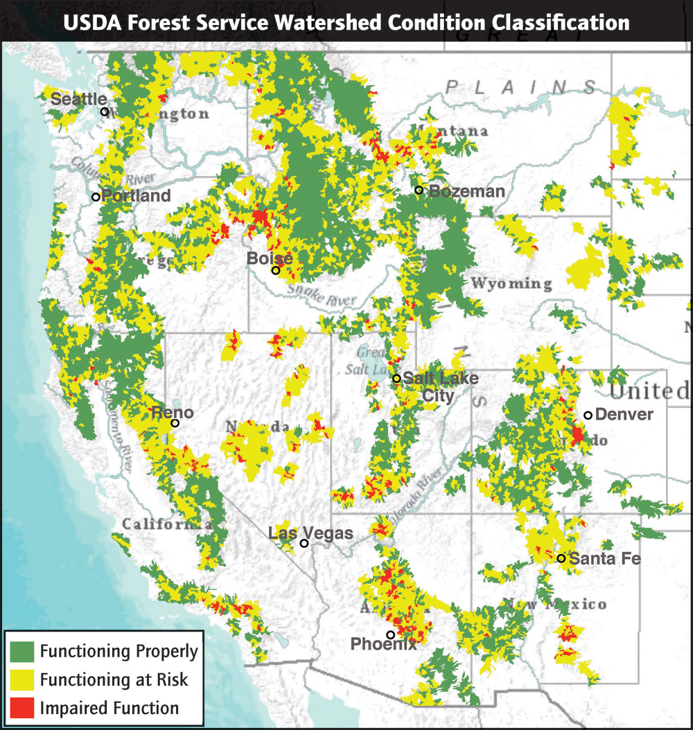 Denver Water Jobs: Communities Help Pay For Ecosystem Services Provided By