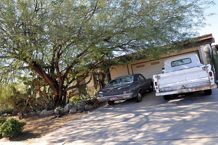 Loughner's Tucson home, on the street called Soledad (Solitary), about five miles from the Safeway where the shooting took place.