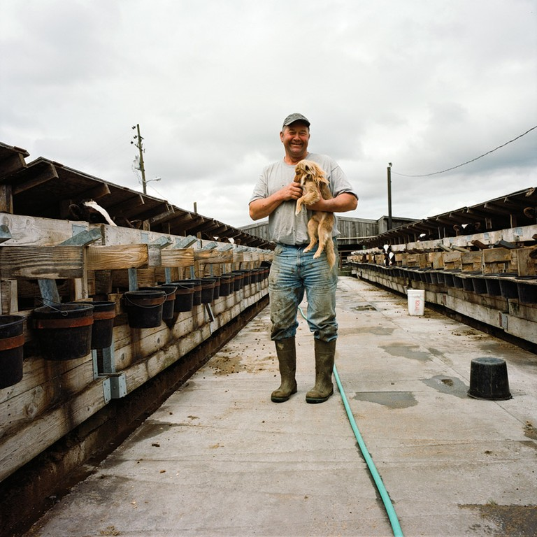 Dennis Leonardi, a third-generation farmer in Ferndale.