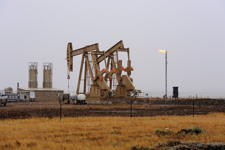 Oil development has occurred in North Park for several decades, but interest in tapping the Niobrara Formation has spurred new wells like these.