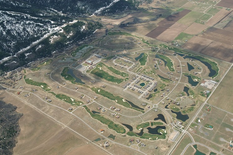 Teton Springs, the county's first big resort-style development, was approved in 2000, but today there are still hundreds of vacant lots.