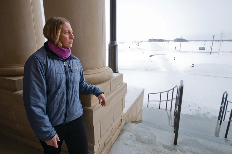 Angie Rutherford became Teton County's planning administrator during a volatile time. Part of her job is to mitigate tension between longtime valley farmers and ranchers who fiercely defend their rights as property owners and those who want more assertive regulations on development.