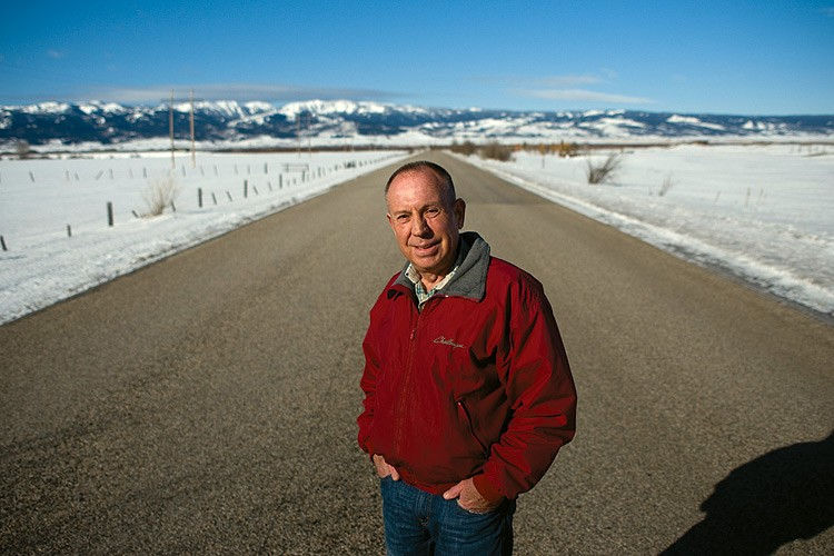 Bruce Arnold, a fourth-generation farmer, sits on Teton County's planning commission and has a reputation for fairness when considering planning and development issues facing the county.