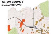 Teton County subdivisions
