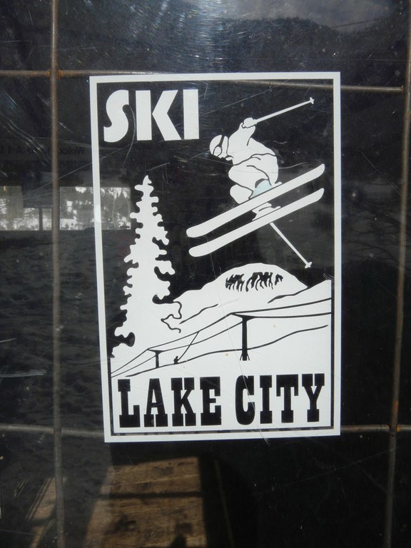 The Ski Lake City logo.