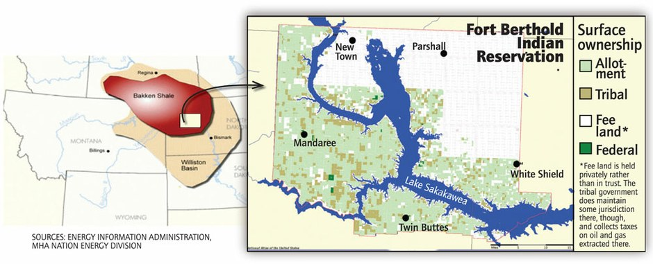 Land Ownership On The Fort Berthold Indian Reservation High - Nd land ownership map