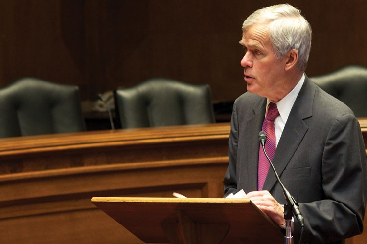 Sen. Jeff Bingaman, D-N.M., takes a final stab at introducing a federal clean energy standard, before retiring in 2013 from the Senate and his chairmanship of the Senate Energy and Natural Resources Committee.