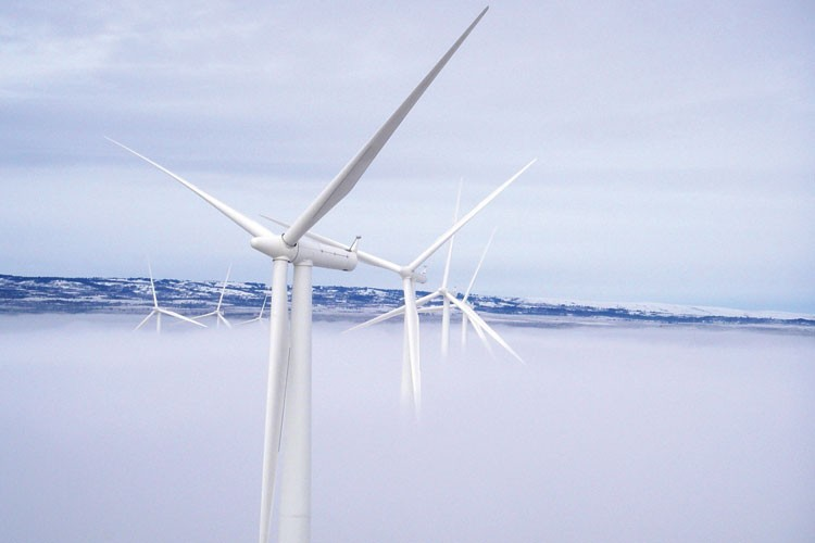 White Creek Wind Project in Washington's Klickitat County was contracted to deliver power to California to help meet its renewable portfolio standard ... until Pacific Gas and Electric backed out.