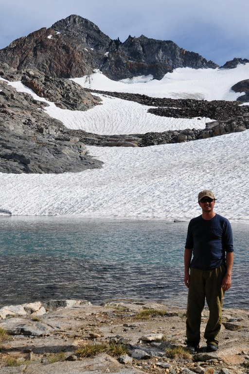 Journalist Jeremy Miller, seen here at Maclure Glacier in Yosemite, is HCN's newest contributing editor.