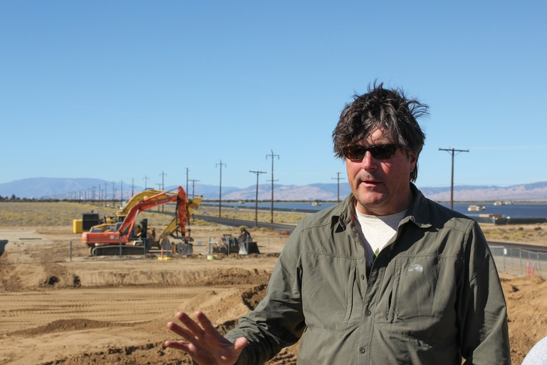 Semester in the West founder and director Phil Brick discusses utility-scale solar development in the Antelope Valley in northern Los Angeles County.
