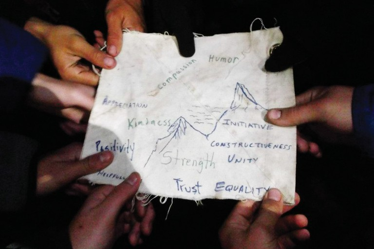 Northwest Outward Bound students document lessons learned on a 14-day mountaineering course.