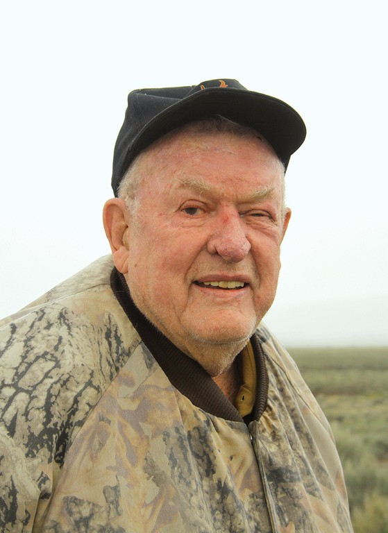 The late James Yoakum, a prominent pronghorn researcher.