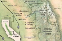 Map: California's Central Valley