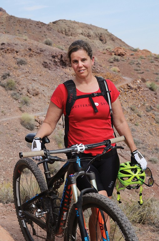 Ashley Korenblat, Moab mountain-bike outfitter and public-lands consultant