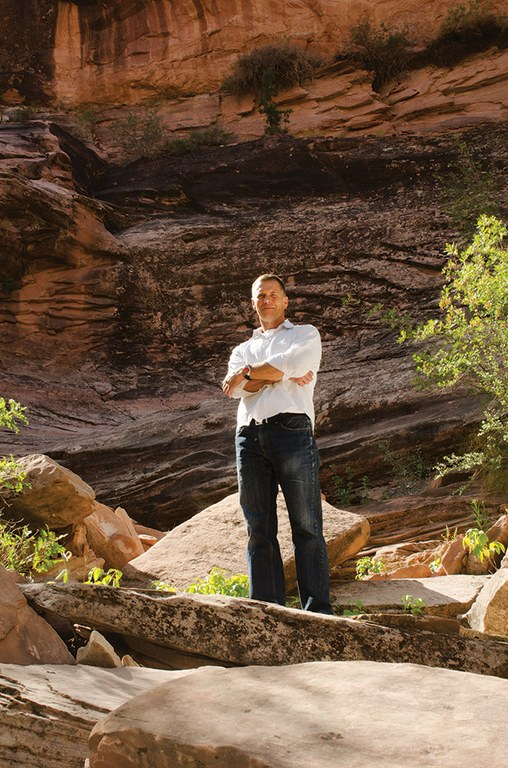 Scott Groene, Executive director of the Southern Utah Wilderness Alliance