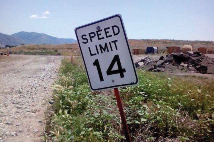 Utah: Not too fast, not too slow, just right.