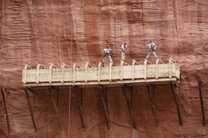 Flume fever: a monument to gold mining history is reconstructed