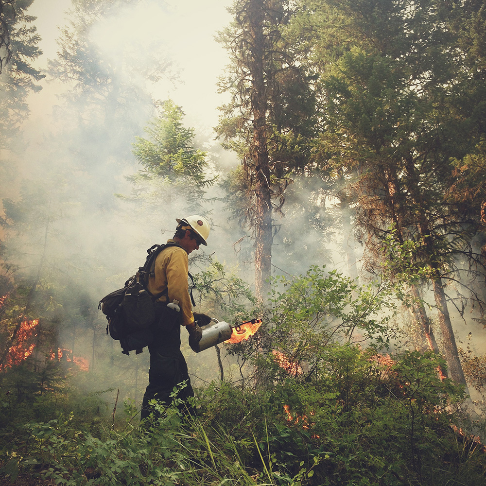 A California Hotshot Photographs His Life Fighting