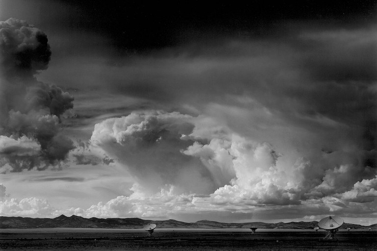 Approaching Thunderstorm, Very Large Array, near Socorro, New Mexico, 2011.