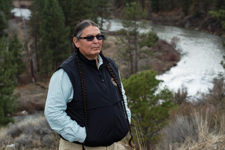 Tribal council member and lead water-rights negotiator Jeff Mitchell says the Klamath Tribes debated whether to make a water call, knowing it would be unpopular.