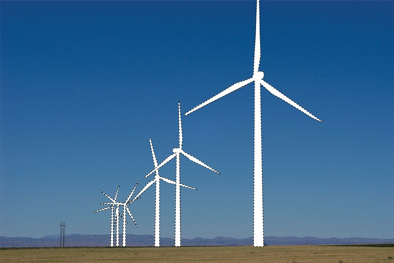 Idaho, minus wind turbines. (Photo illustration)