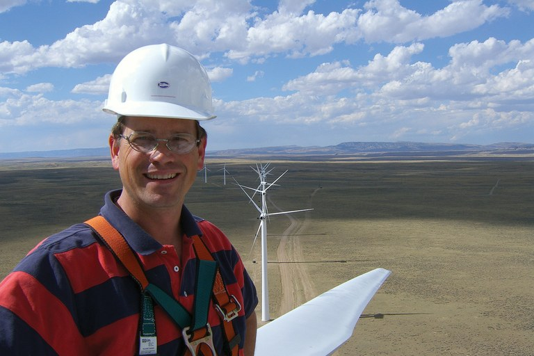 Wind entrepreneur Brian Jackson lost big when Idaho Power pulled the plug on wind projects.