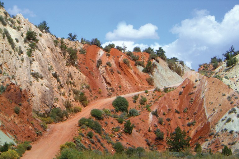 Utah's Cottonwood Canyon Road travels parts of Grand Staircase-Escalante National Monument.