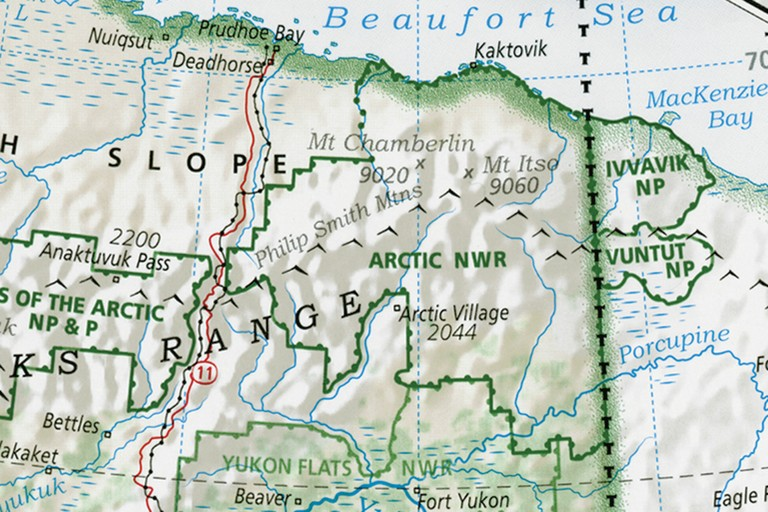 Details include Mount Chamberlin and Anaktuvuk Pass in Alaska.