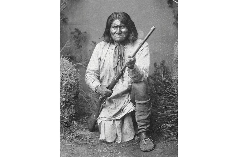 Geronimo, c. 1890, after his capture.