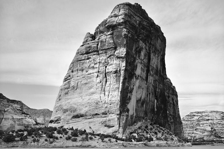 Steamboat Rock, Dinosaur National Monument, Colorado, 1996.