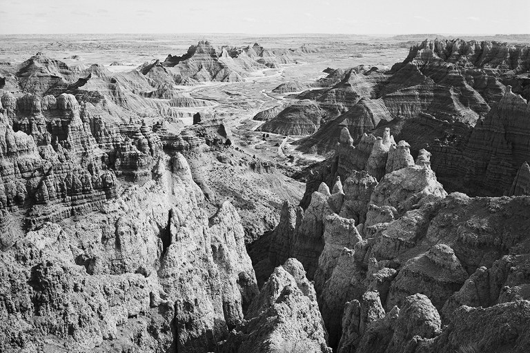 View from Sheep Mountain Table, Badlands National Park, South Dakota, 1997.