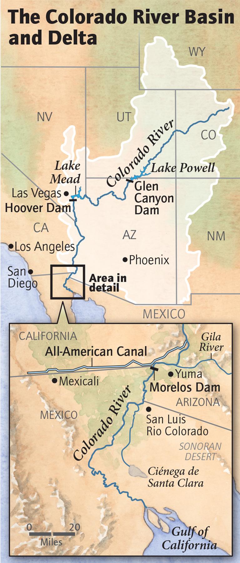 The Colorado River Basin and Delta