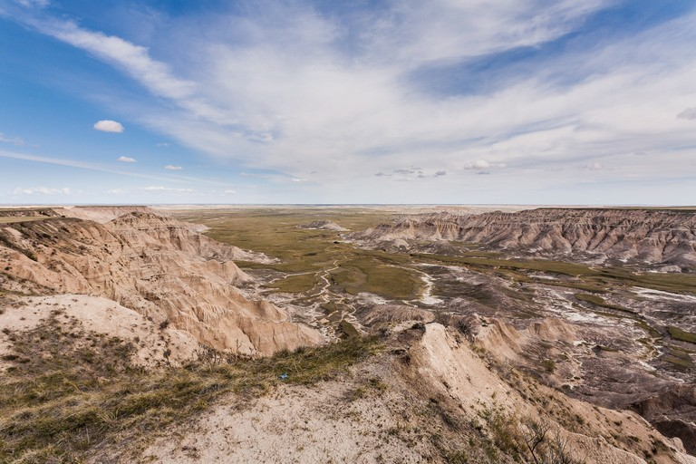 The former military bombing range as seen from Sheep Mountain Table in the South Unit of Badlands National Park.