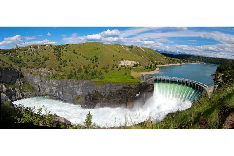 Kerr Dam was completed on Montana's Flathead Lake in 1938, and represents a period of cultural and economic loss for the Confederated Salish and Kootenai Tribes. Their plan to buy the dam in 2015 has energized advocates of tribal sovereignty and is providing job opportunities for tribal members.