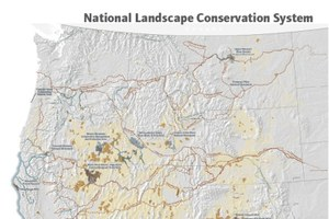 National Landscape Conservation System map