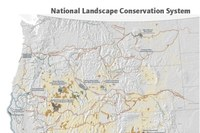 National Landscape Conservation System map