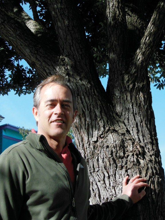 Author and tree enthusiast Michael Sullivan.