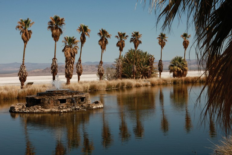The former Zzyzx Mineral Springs Resort, established in the 1940s using mineral claims on federal land, was reclaimed by the federal government in the 1970s after the passage of the National Environmental Policy Act.