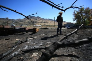 A new collaboration has Idaho ranchers and the BLM fighting fire together