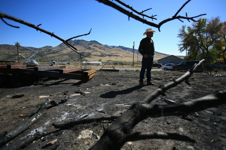 Rancher Clair Teeter, of Elba, Idaho, was livid when BLM protocol prevented him from fighting a fire on public land that threatened his home. Facing a similar problem, ranchers across the state have begun to form rangeland protection agencies to fight wildfires with the BLM's blessing.