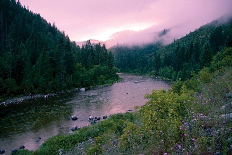 The North Fork Clearwater River, Idaho, where the Forest Service is fighting mining under a law that allows it to prioritize other uses.